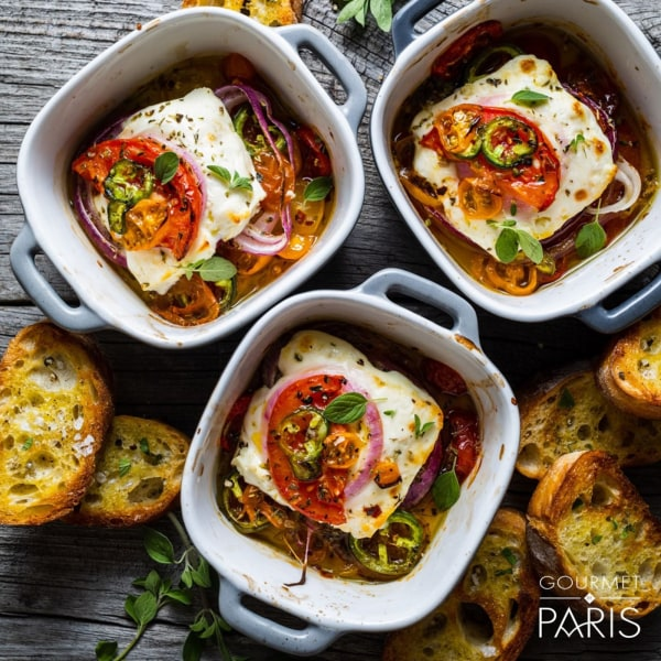 Image ofSpicy Baked Feta