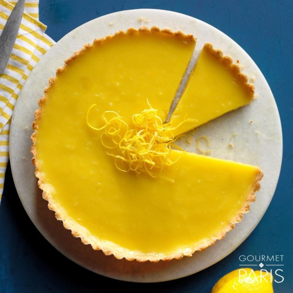 Image ofLemon Tart with Almond Crust