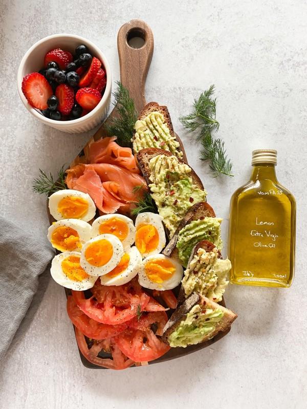 Image of Avocado Toast with Lemon Olive Oil