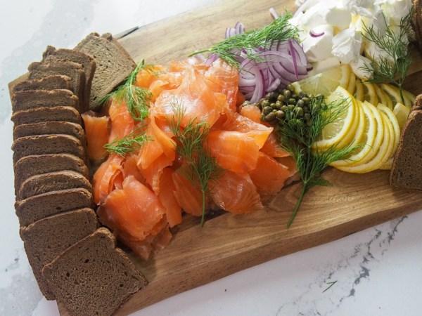 Image of Bourbon Cured Salmon Gravlax