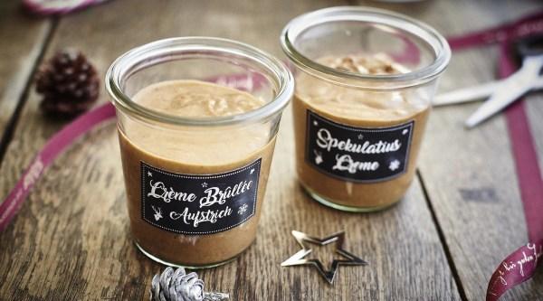 Spekulatius Crème & Crème Brûlèe Aufstrich Rezept