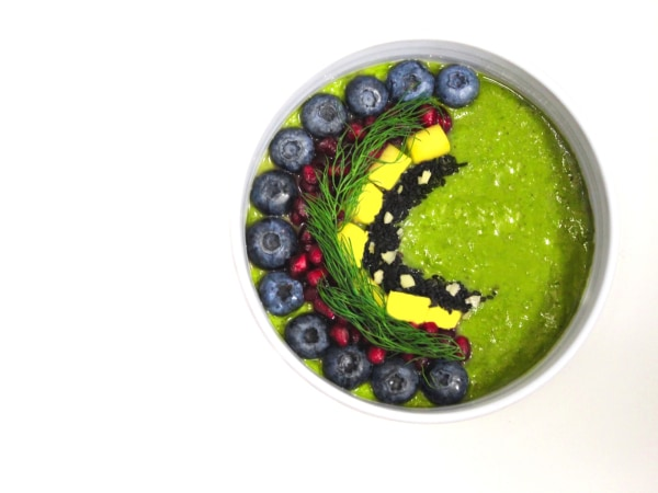 Image of GREEN MEADOWS Smoothie Bowl