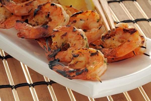 Image ofPineapple Habanero Marinated Shrimp