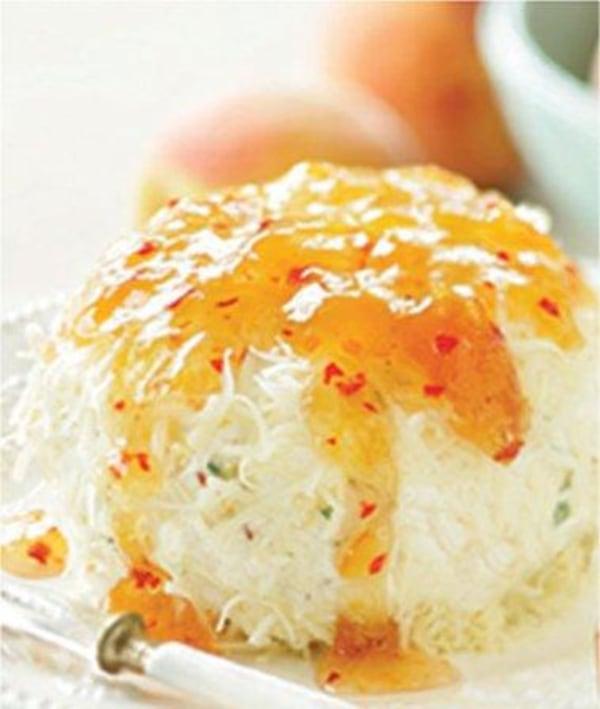 Image of Hot Pepper Peach Cheese Ball