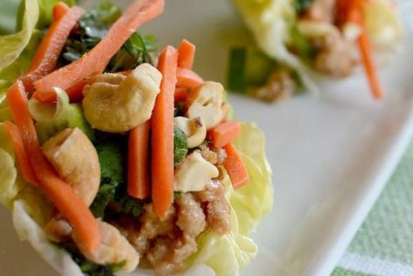 Image ofThai Sweet Chili Lettuce Wraps