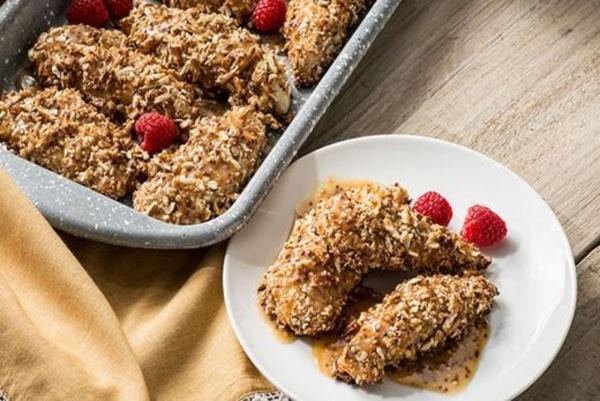 Image ofChampagne Garlic Honey Mustard Baked Chicken