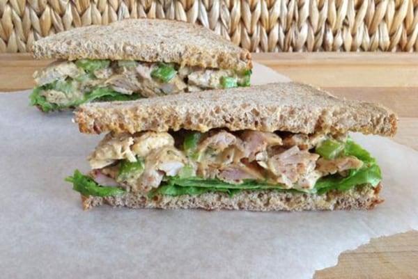Image ofLemon Dill Chicken Salad Sandwiches