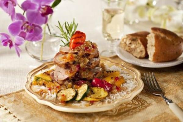 Image of Tropical Grilled Pork Tenderloin