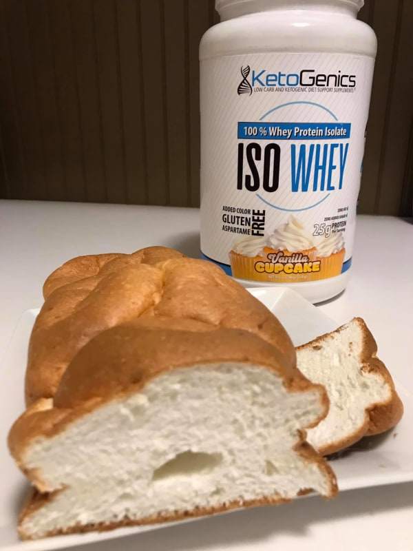 Image ofLow Carb Keto Friendly Angel Food Cake