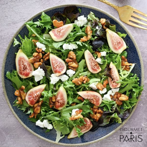 Image ofFig and Goat Cheese Salad