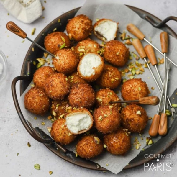 Image ofFried Grand Coeur Goat Cheese Balls