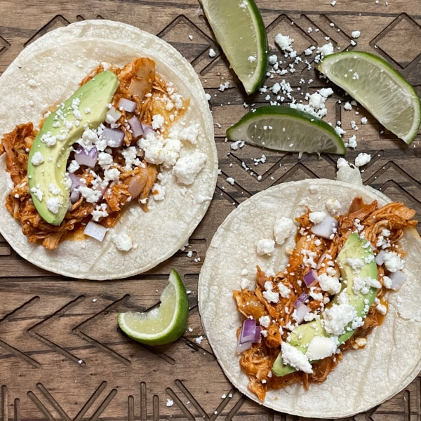 Image of Smoked Chicken Tinga Tacos