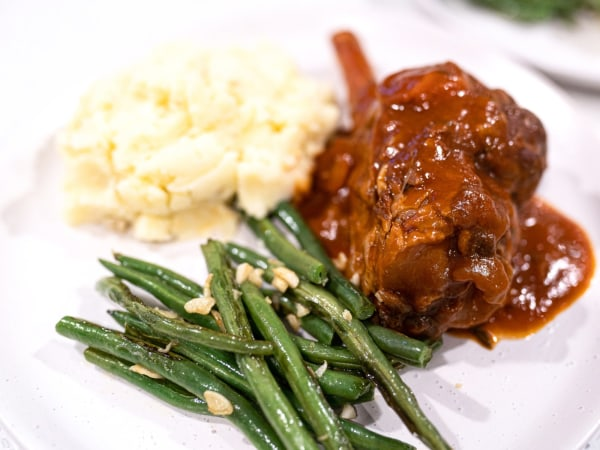 Image ofSlow cooker lamb shanks