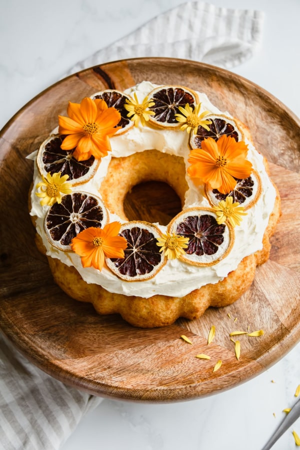 Zingy Lemon Bundt Cake Recipe by Jaharn Quinn from Smor Kitchen