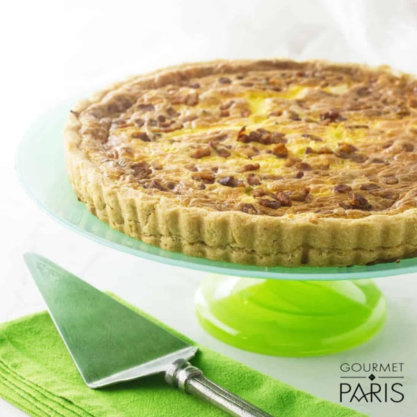 Image ofSmoky Bacon and Leek Quiche