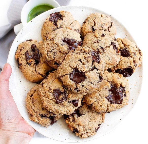 Image ofPALEO ALMOND BUTTER CHOCOLATE CHUNK COOKIES