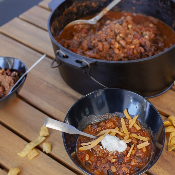 Image of Big Green Egg: Over the Top Chili