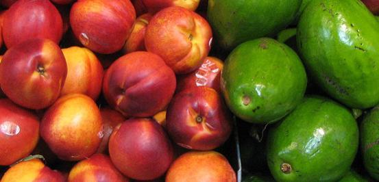Image ofAvocado-Peach Protein Shake