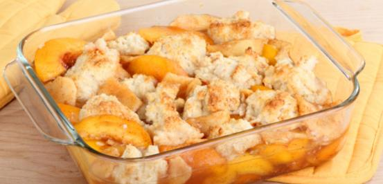 Image of Peach Cobbler Protein Shake