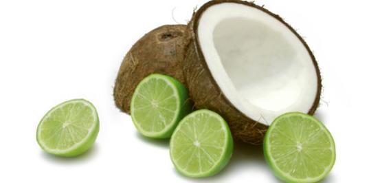 Image of Lime in the Coconut Protein Shake