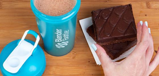 Image of Double Fudge Brownie Protein Shake
