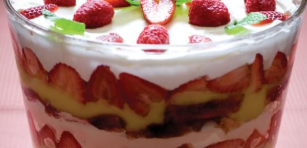 Image ofSimply Strawberry Triffle