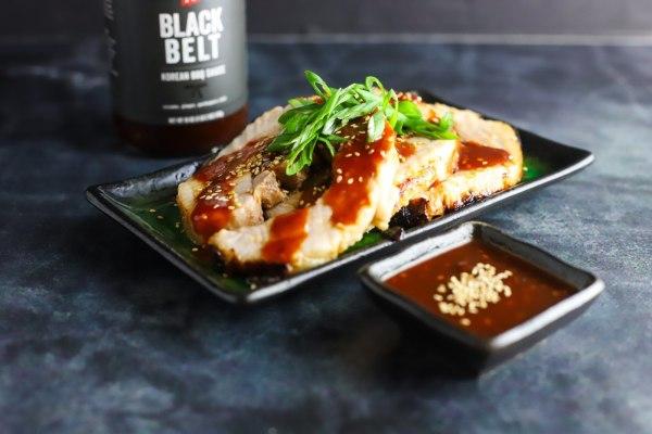 Image of Black Belt Oven Roasted Pork Belly