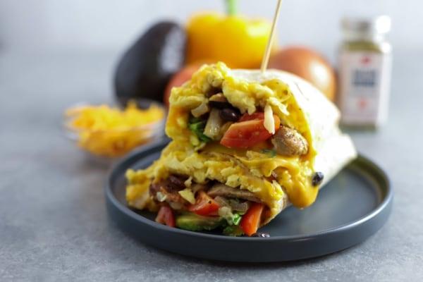 Image of Bacon Bomb Breakfast Burrito