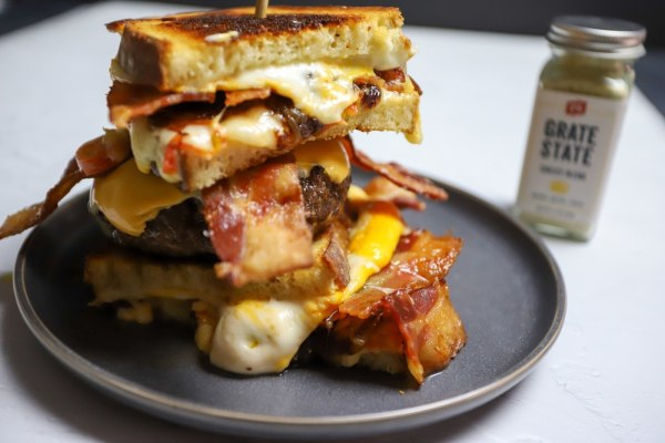 Image ofCheesehead Grilled Cheese Burger