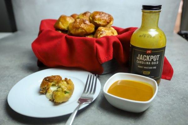 Image ofHoney Mustard Chicken Pretzel Bites