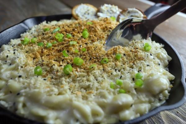 Image of Everything Bagel Mac & Cheese