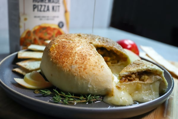 Image of Apple Pie Baked Brie