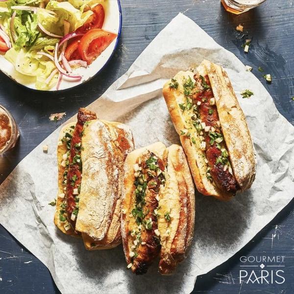 Image ofGrilled Choripan Argetinian Sandwich
