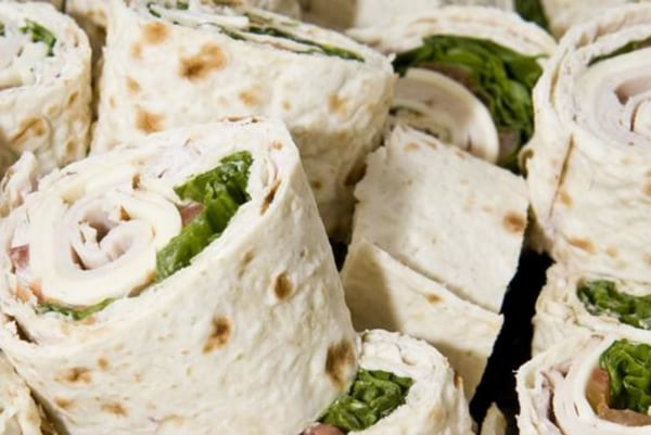 Image ofRed Pepper Turkey Wrap