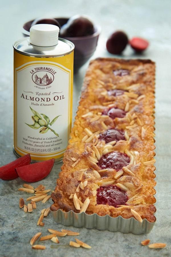 Image ofAlmond & Sun Coco Oil Plum Torte