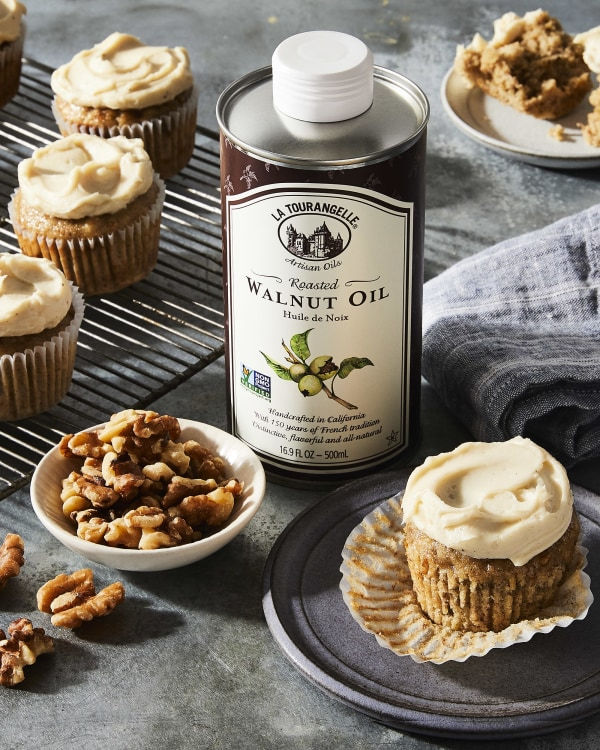 Image ofBanana Cupcakes with Brown Butter Frosting
