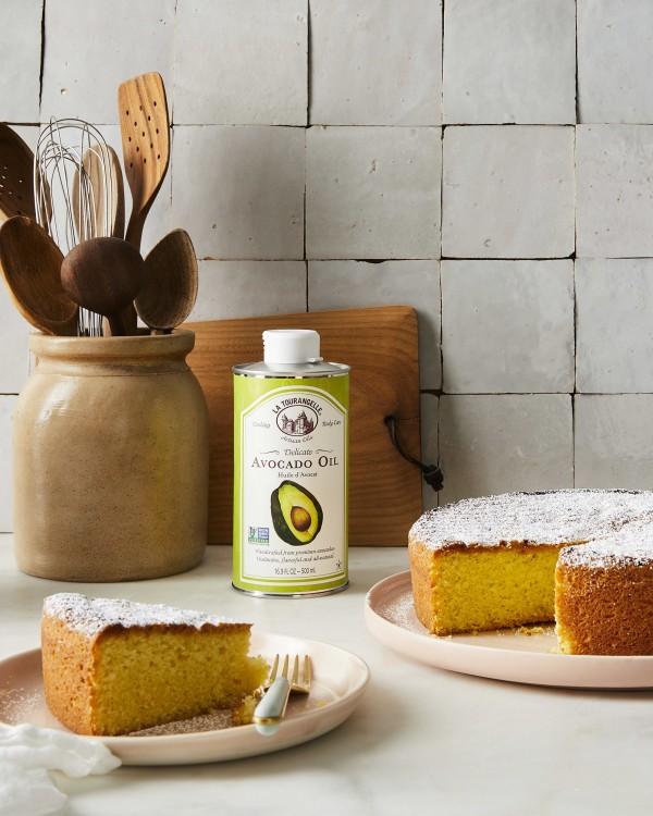 Image ofAvocado Oil Cake