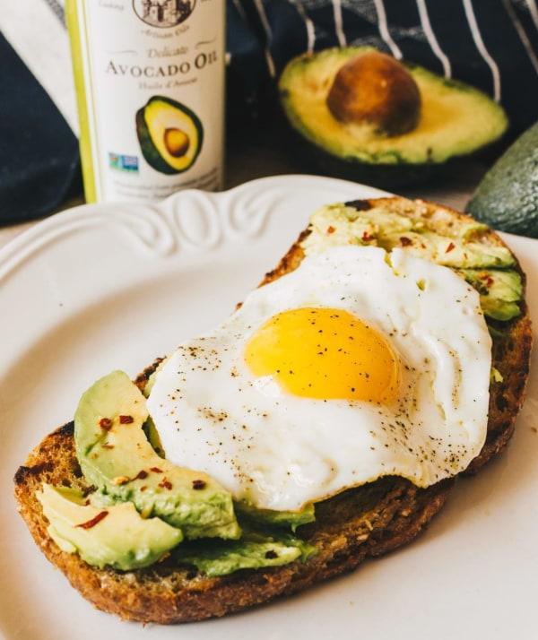 Image ofAvocado & Egg Toast