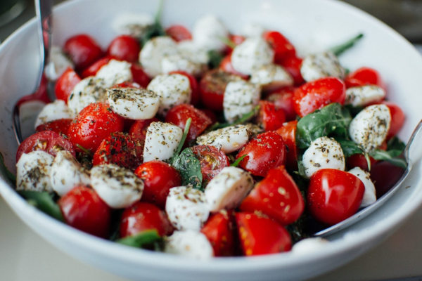 Image ofBasil oil - Caprese Salad