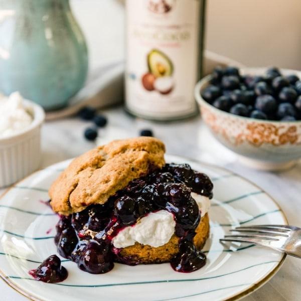 Image ofBlueberry Shortcake