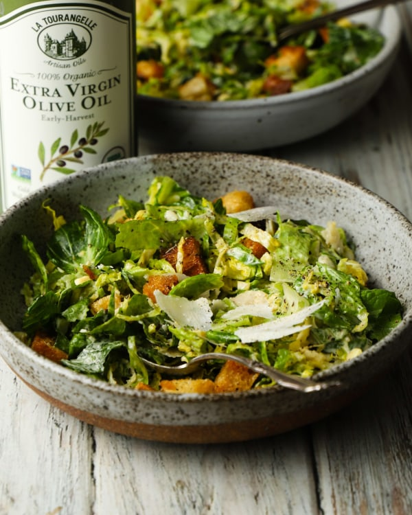 Image ofBrussel Sprouts Caesar Salad