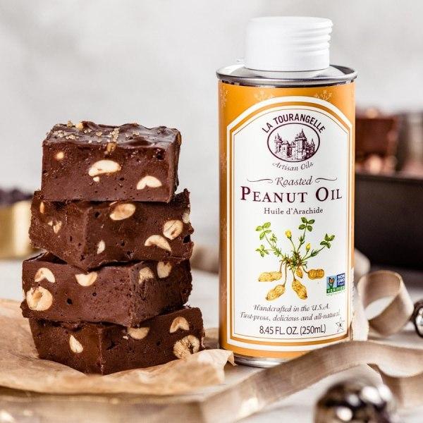 Image ofChocolate Fudge with Peanuts