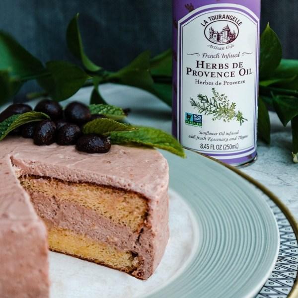 Image ofChocolate Orange Herbs de Provence Sponge Cake