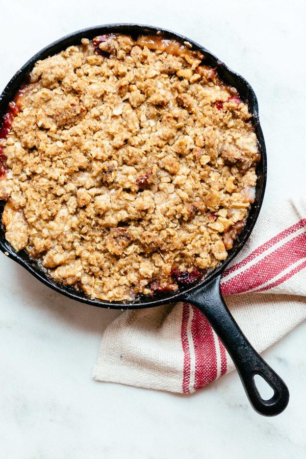 Image ofCranberry Apple Walnut Crisp