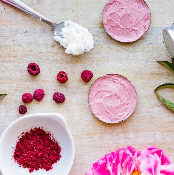 Image ofDIY Raspberry Coconut Oil Lip Gloss + Cheek Stain