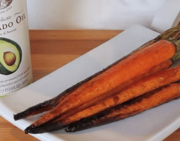Image ofDelicate Avocado Oil Roasted Carrots (Video)