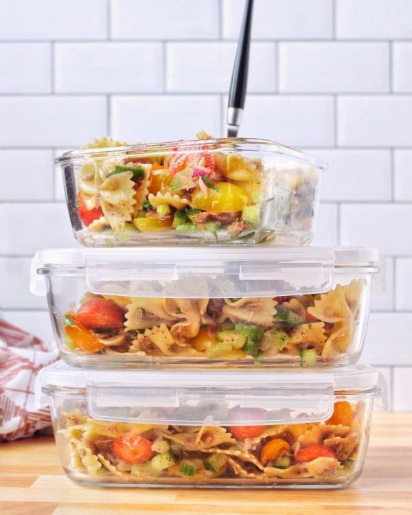 Image ofEasy Roasted Walnut Oil Pasta Salad with Tuna