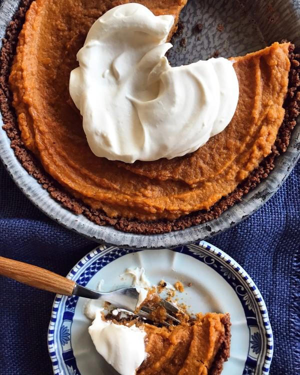 Image ofGinger Thin Sweet Potato Pie