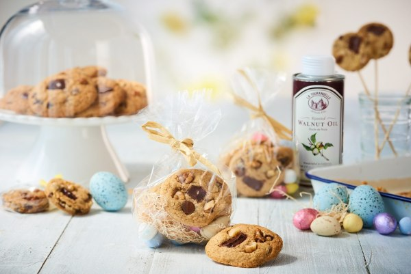 Image ofGluten Free Chocolate Chip Cookies with Walnut Oil