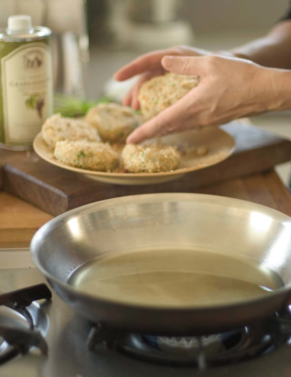 Image ofGrapeseed Oil Crab Cake